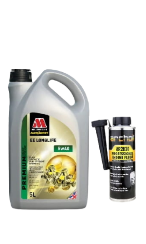 Millers Oils EE Longlife 5W-40 5L + Archoil AR2820 250ml